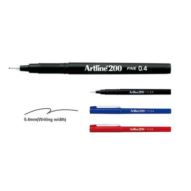 Artline 200 Writing Pen 0.4 1