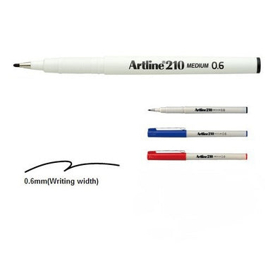 Artline 210 Writing Pen 0.6 1