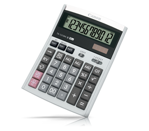 Canon TX-1210Hi III Desktop (12 Digits) Calculator 2