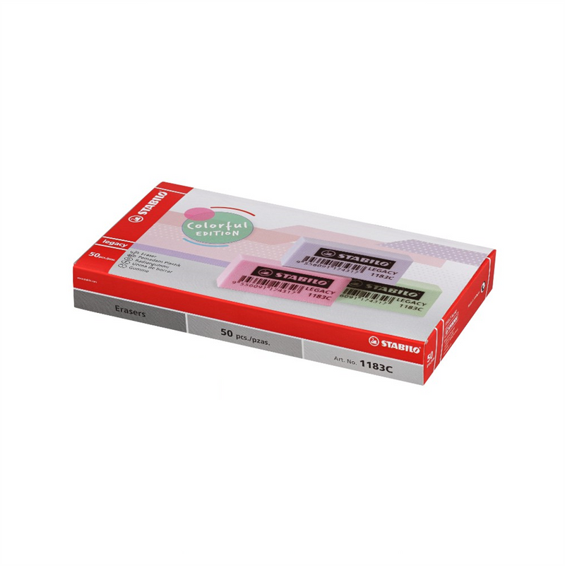 Stabilo 1183C Color Eraser 50's