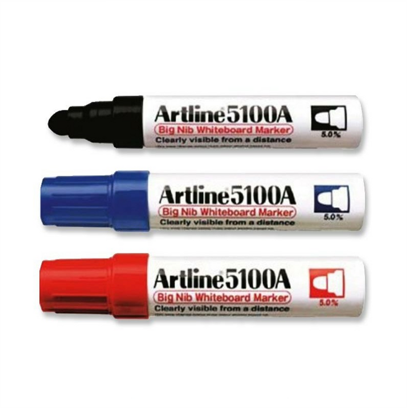 Artline 5100A Whiteboard Marker (Big Nib)