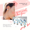 Opalite Post Earrings