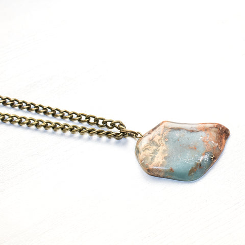 Snakeskin Jasper Choker - Natural Gemstone Jewelry