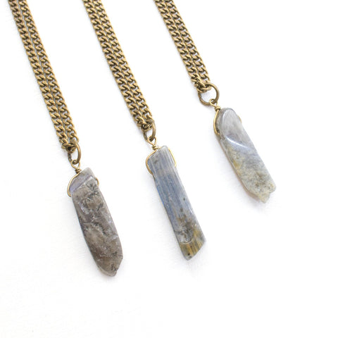 Labradorite Necklace - Natural Gemstone Jewelry
