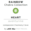 "Heart Chakra Gemstone Gift Set | Green Aventurine Gemstone Gift Set | The ""Loving Kindness"" Gift Set"