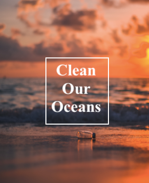 Keep Our Oceans Clean by Alsha Coppolina