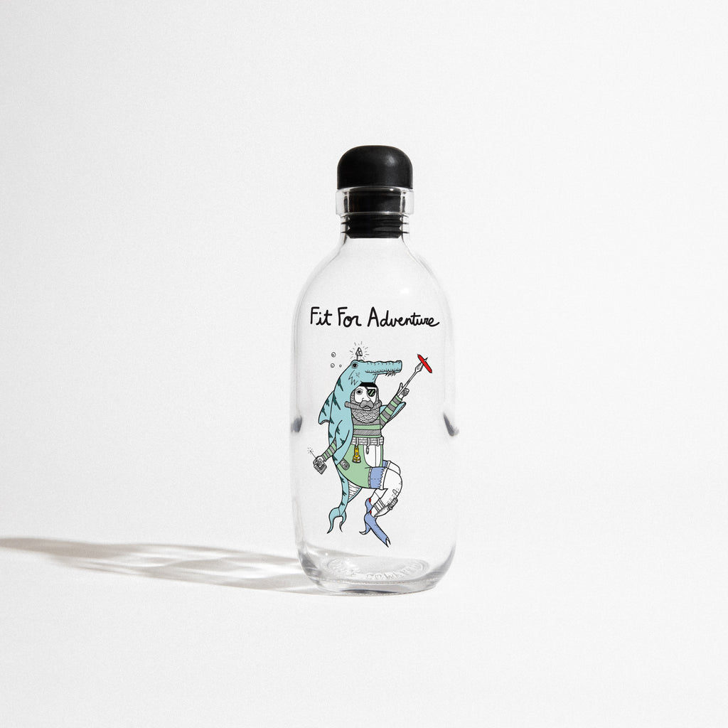 Fit for Adventure Reusable Water Bottle