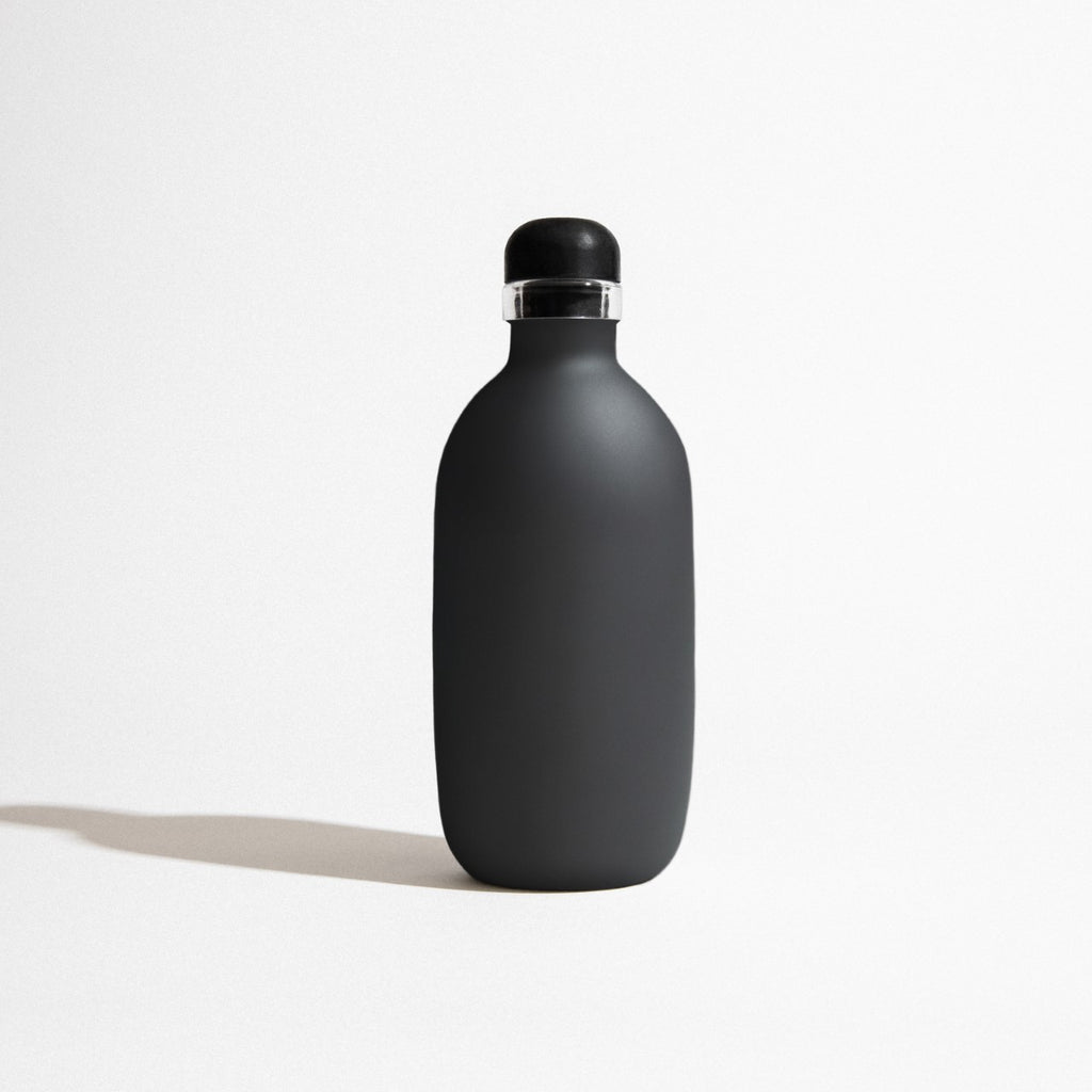 One For Life Reusable Drink Bottle - Matte Black