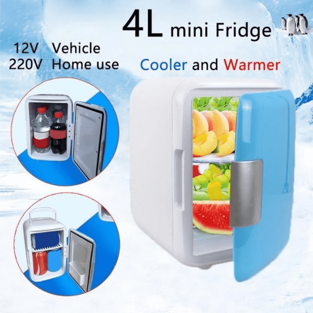 Mini Portable Car Refrigerator - Discounts You May Like