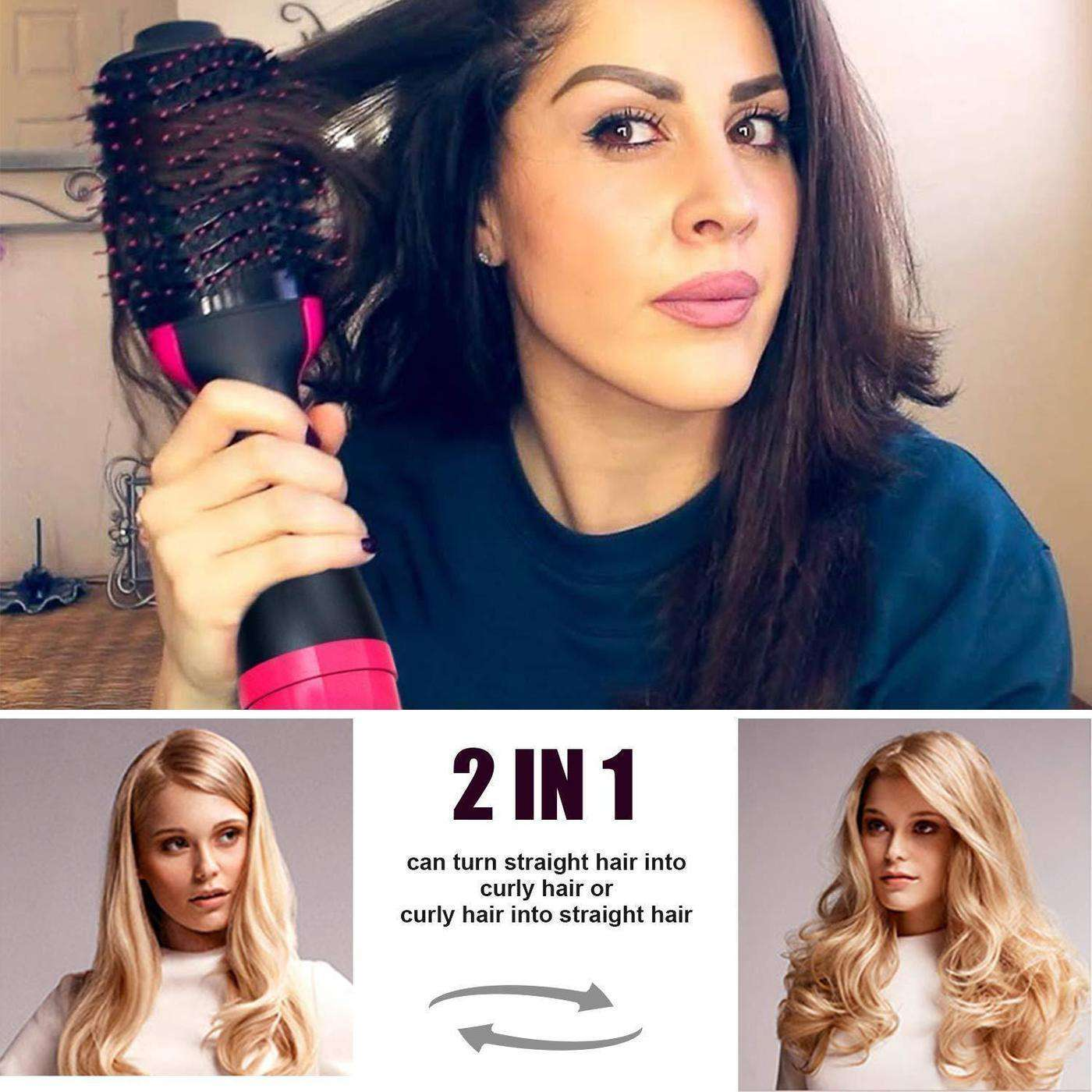 Blowout Brush - (3 in 1 Volumizer & Dryer & Styler) - Discounts You May Like