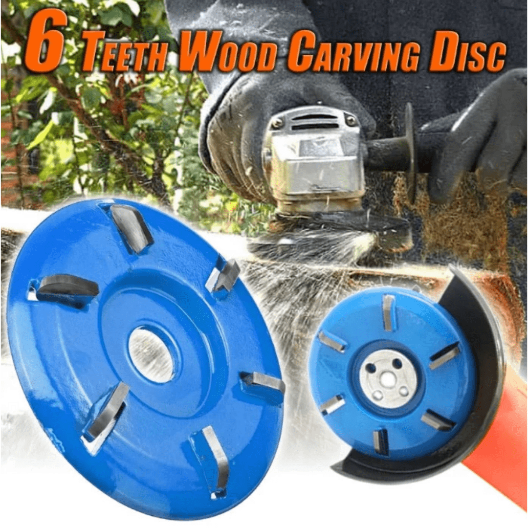 6 Teeth Wood Carving Disc - Blazing Dealz