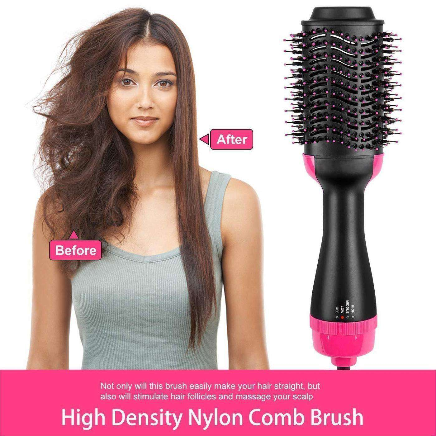 Blowout Brush DBB - (3 in 1 Volumizer & Dryer & Styler) - Discounts You May Like