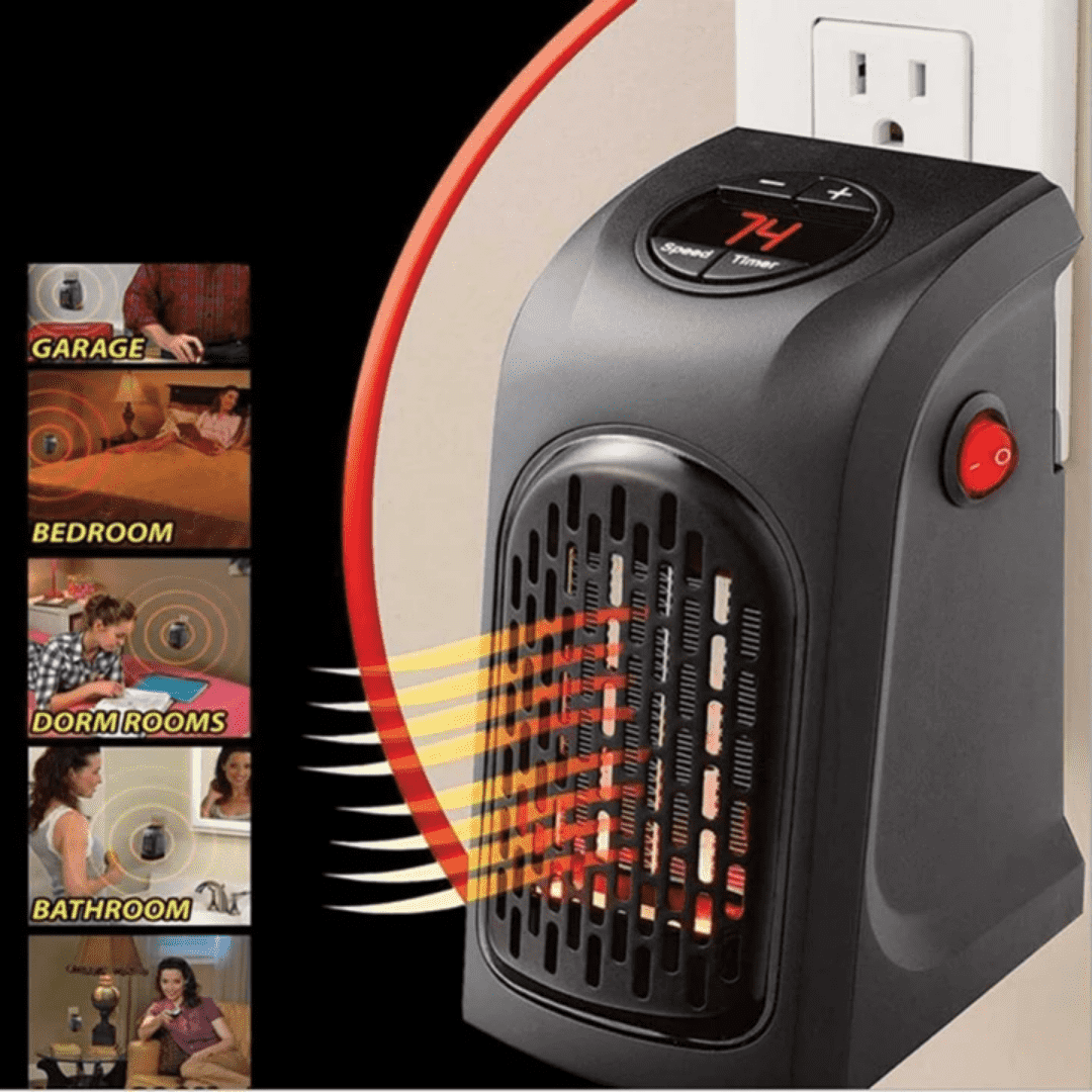 Electric Portable Room Heater - Blazing Dealz