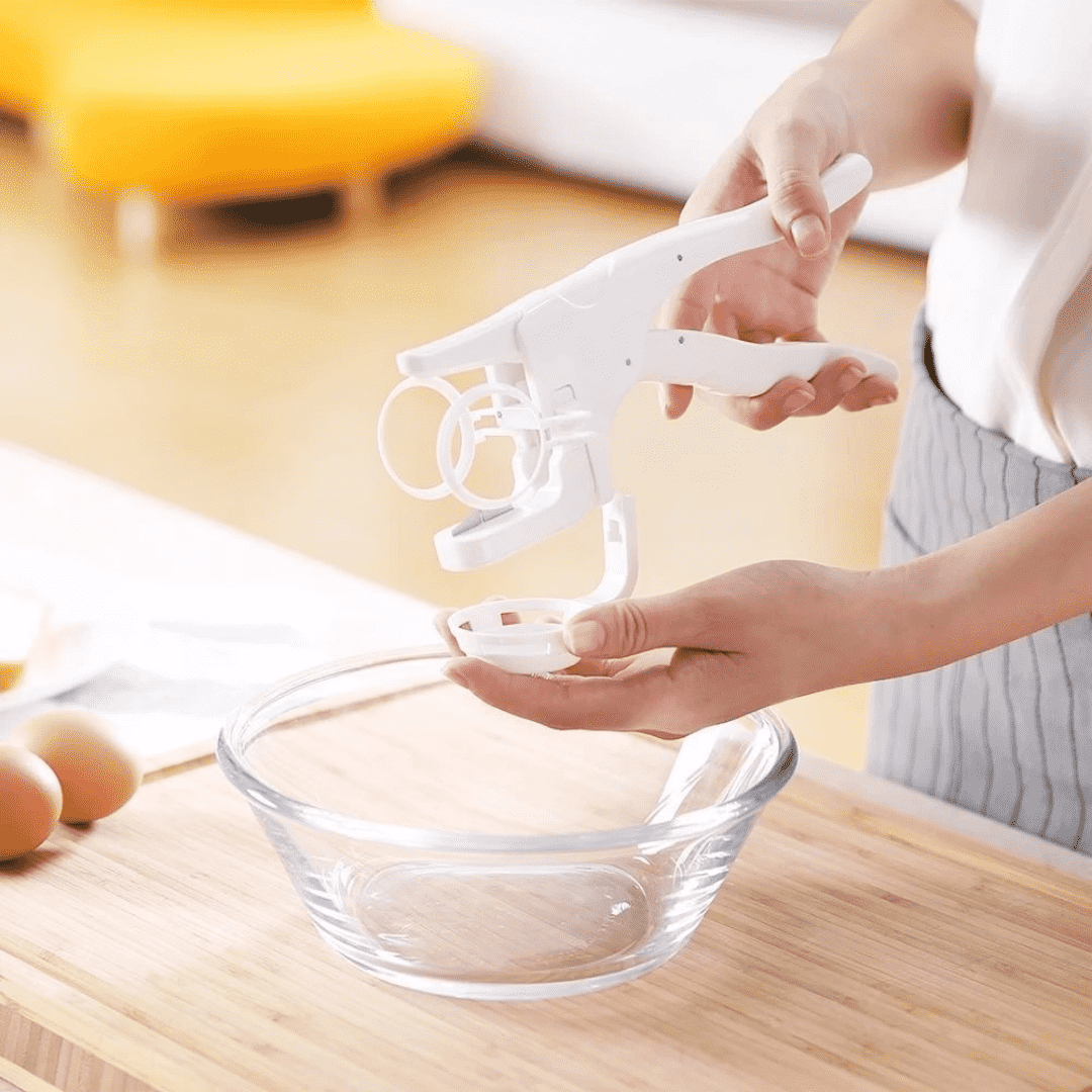 2-In-1 Egg Cracker and Yolk Separator - Blazing Dealz