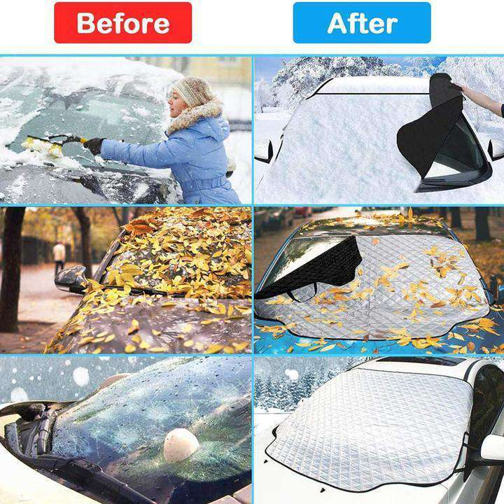 Car Windshield Snow Cover Waterproof Protection Thicken for Auto Outdoor Winter - Discounts You May Like