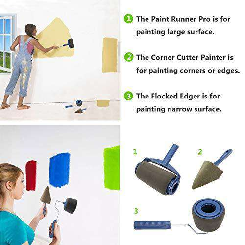 Paint Roller Brush Painting Handle Tool - Blazing Dealz