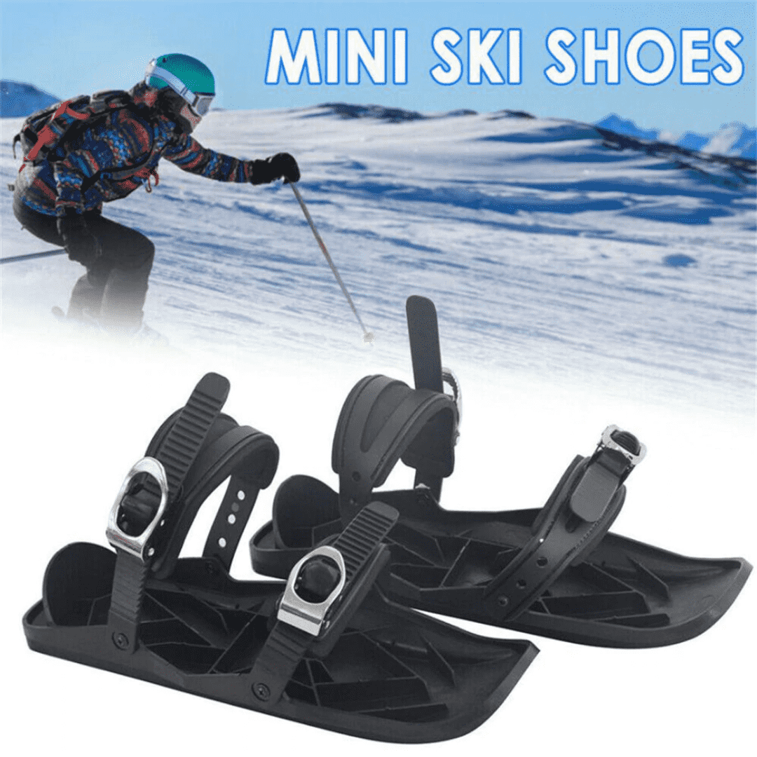 Mini Ski Shoes