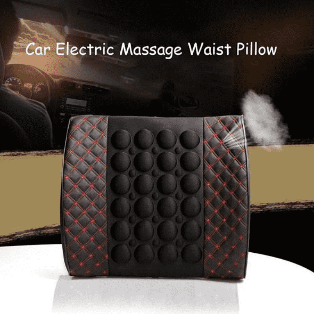 Car Electric Massage Waist Pillow - Discounts You May Like