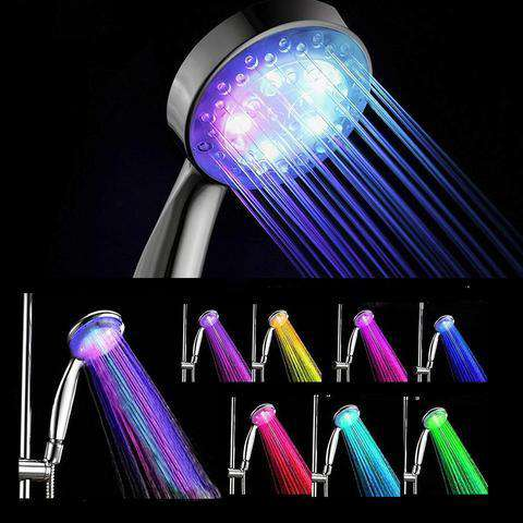 Rainbow LED Light Shower Head - Discounts You May Like