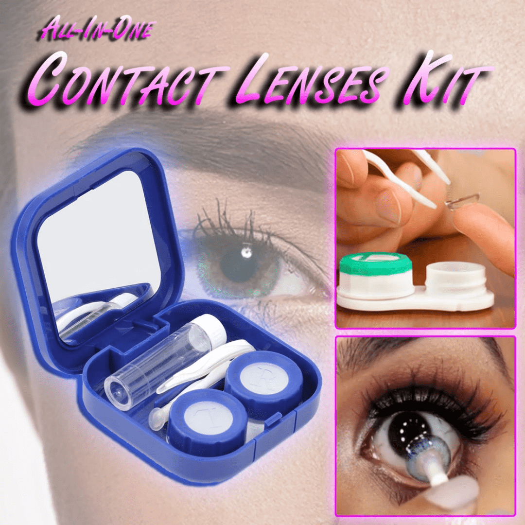 All-In-One Contact Lenses Kit - Discounts You May Like