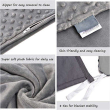 Load image into Gallery viewer, HIGH-QUALITY SOFT WEIGHTED BLANKET - Discounts You May Like