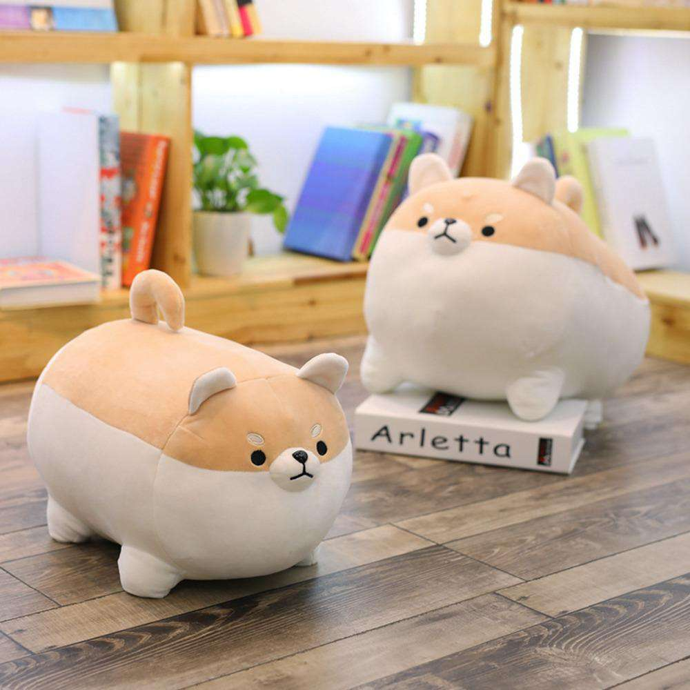 Angry Shibu Inu Plush Pillow - Blazing Dealz