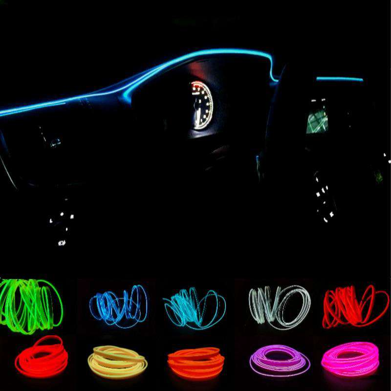 Car Interior Neon LED Rope Light - Discounts You May Like