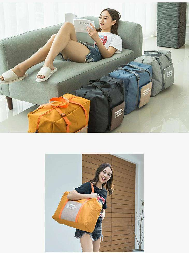 Packable Travel Duffel Bag - Blazing Dealz