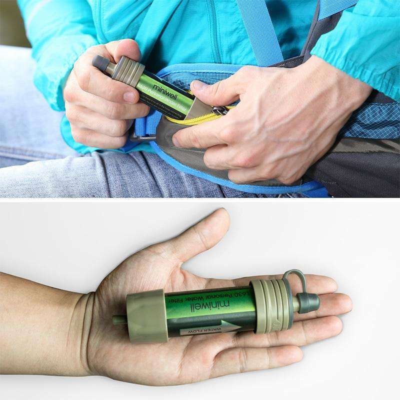 Portable Survival Water Filter - Discounts You May Like