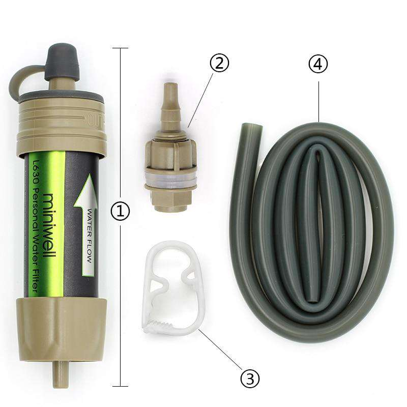 Portable Survival Water Filter - Blazing Dealz