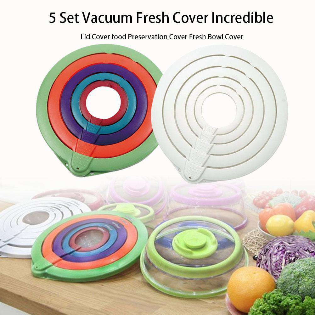 Vacuum Seal Food Cover Lids - Discounts You May Like