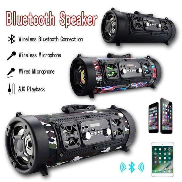 Shockblaster Barrel Bluetooth Speaker - Discounts You May Like
