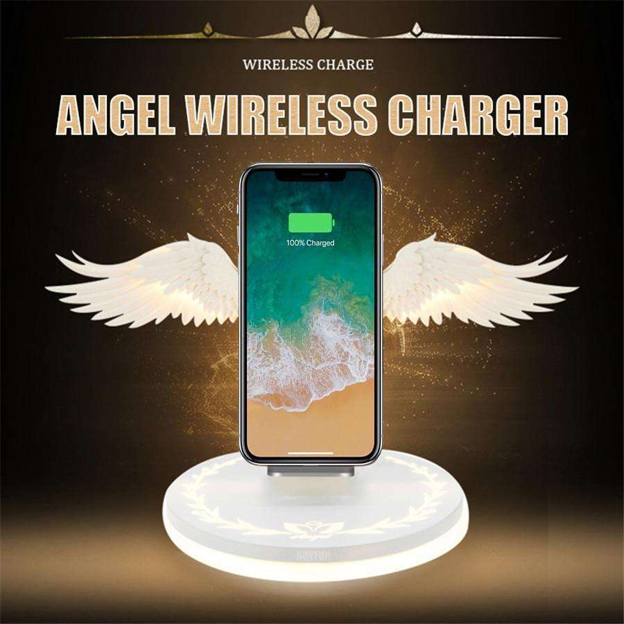 Angel Wings LED Wireless Charger - Discounts You May Like