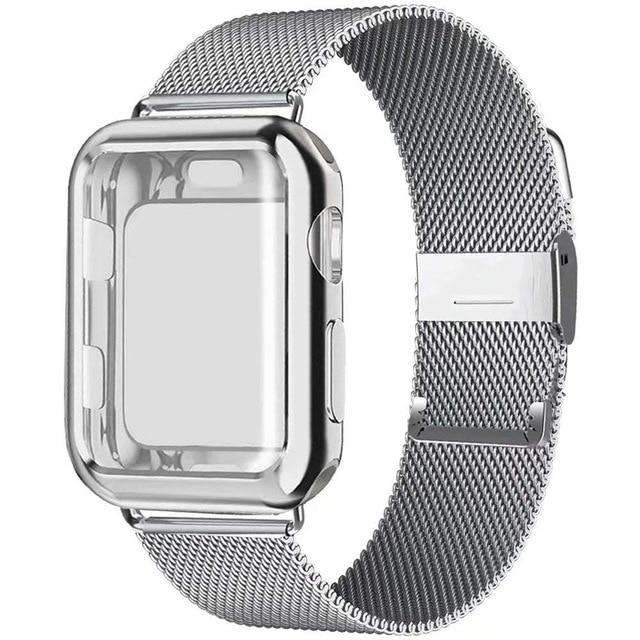 Milanese Loop Stainless Steel Apple Watch Bands - Blazing Dealz