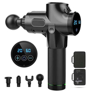 Upgrade Massage Gun, LCD Display 20 Levels Adjustment- Intelligent Touch Screen Control - Discounts You May Like