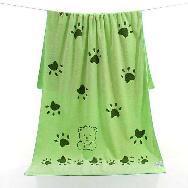 Super-sized Microfiber Bath Towel For Dogs - Blazing Dealz