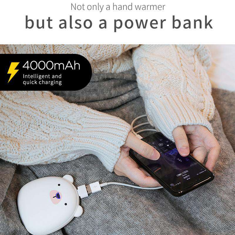 Cozy USB Rechargeable Hand Warmer & Power Bank - Discounts You May Like
