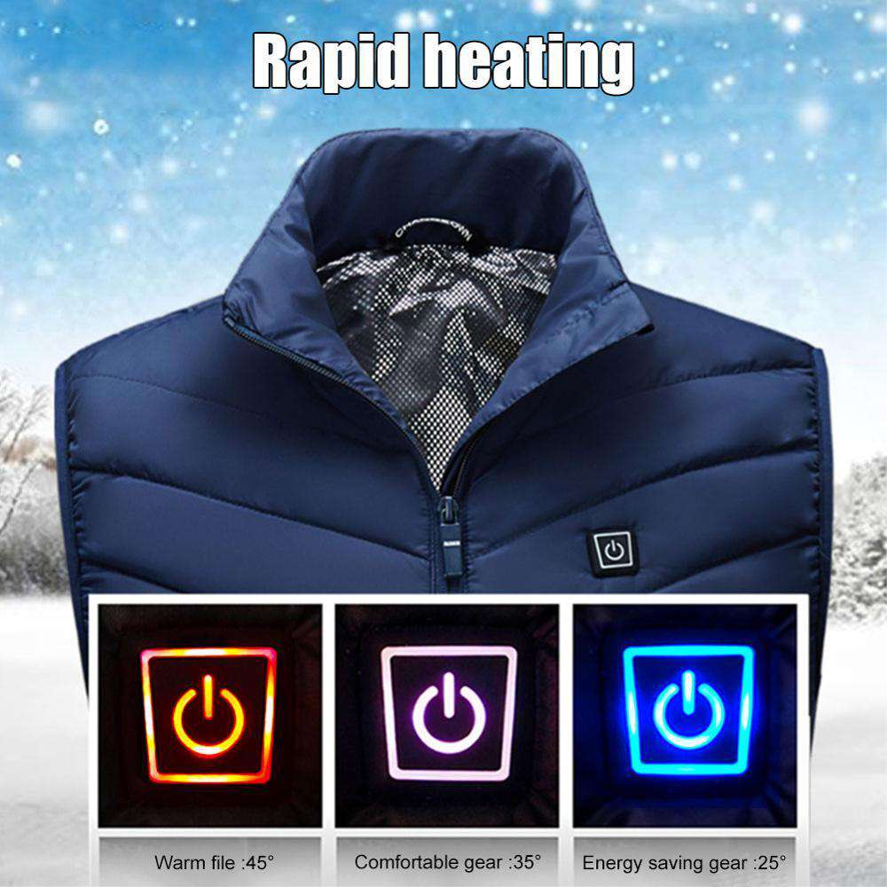 Heated Golf Vest With Custom Heat Control - Blazing Dealz