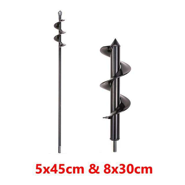Garden Auger Spiral Drill Bit - Discounts You May Like