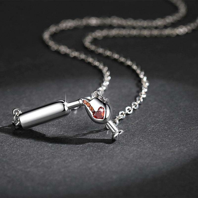 New Lovely Wine Necklace - Discounts You May Like