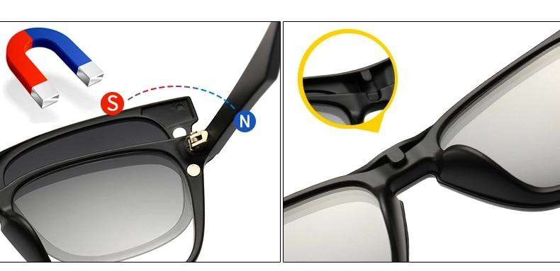 5 in 1 Swappable Sunglasses - Discounts You May Like