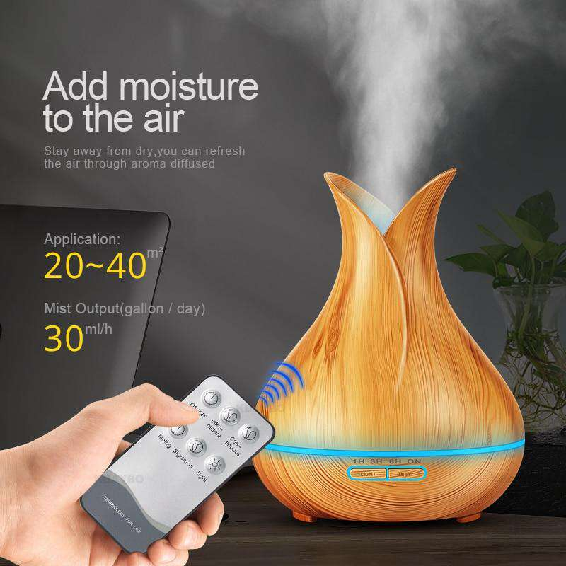 Essential Oil Diffuser - 400ml - Blazing Dealz