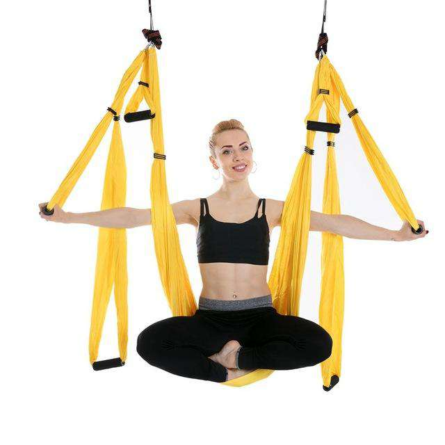 Aerial Yoga Training Hammock - Discounts You May Like