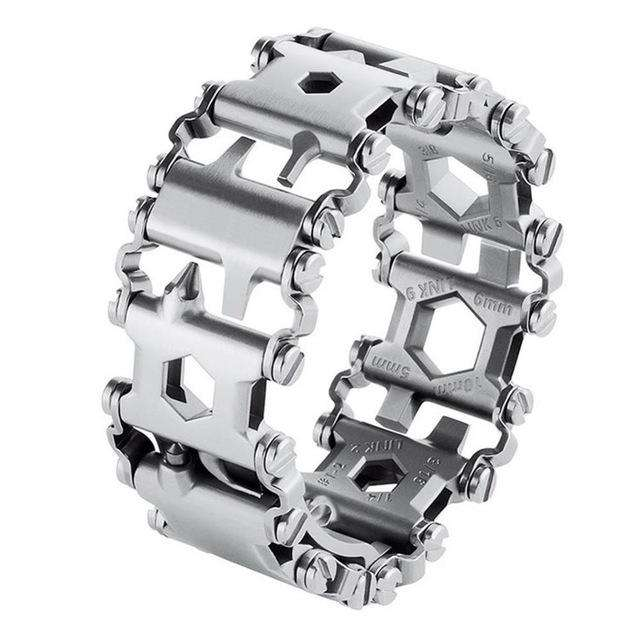 29 Function Bracelet Multi-Tool - Blazing Dealz