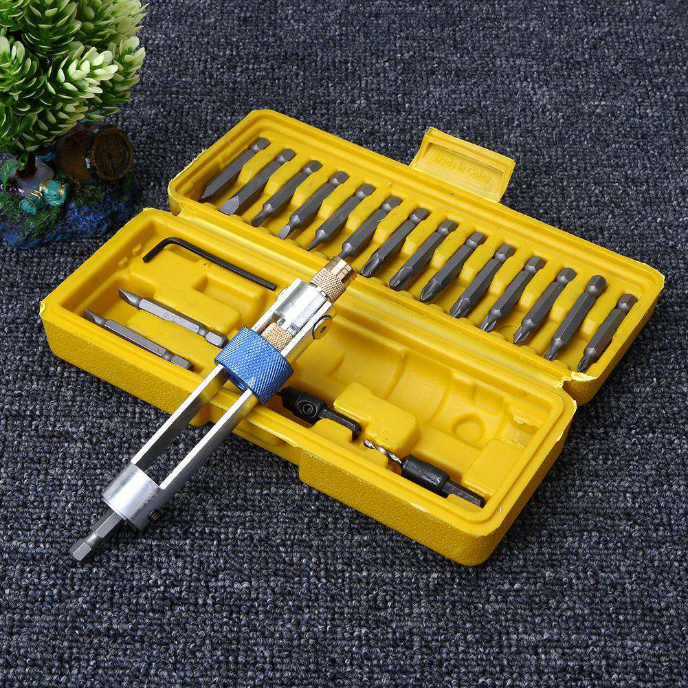 20pcs/Set Half Time Drill Driver Multi Screwdriver - Discounts You May Like