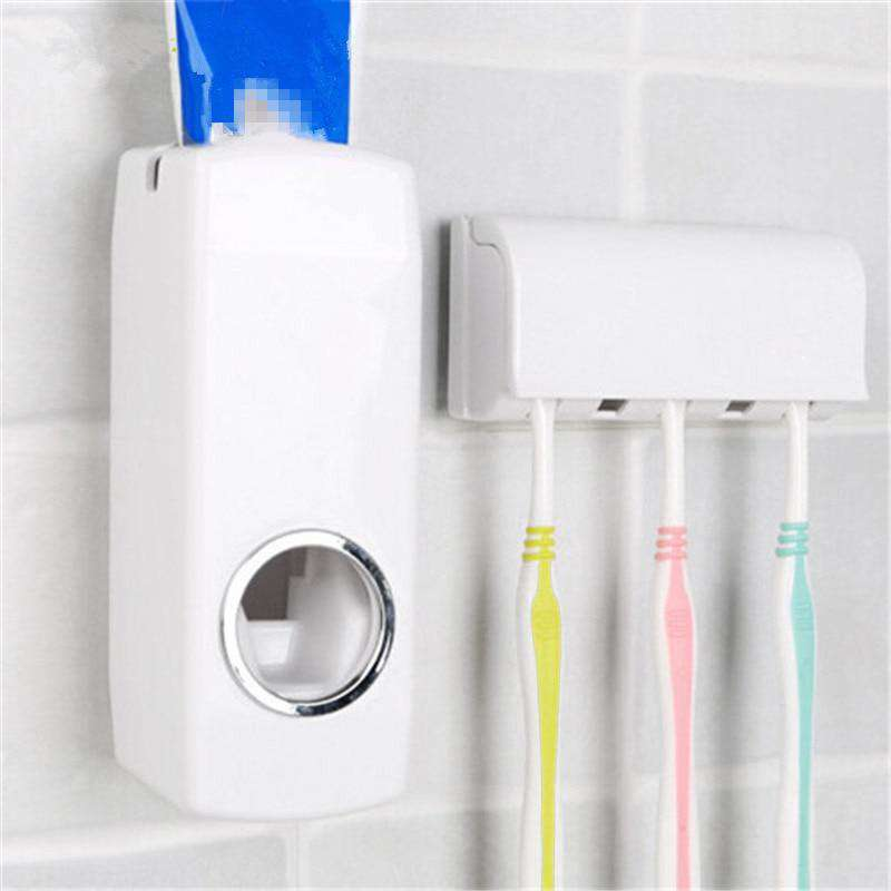 Automatic Toothpaste Dispenser with Holder - Discounts You May Like