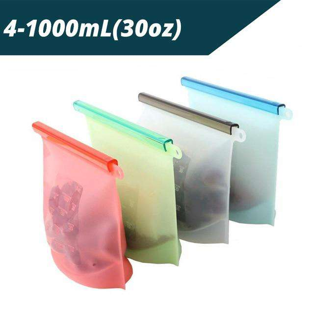 Reusable Silicone Preservation Airtight Food Seal Bag - Discounts You May Like