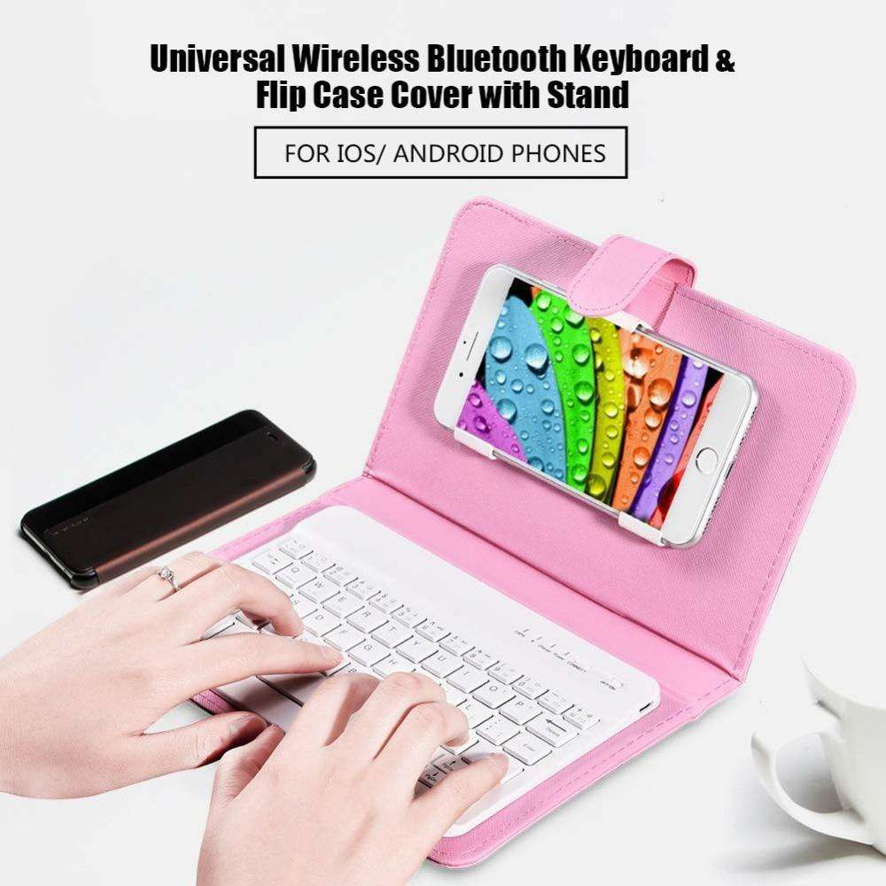 Portable Bluetooth Phone Keyboard - Discounts You May Like