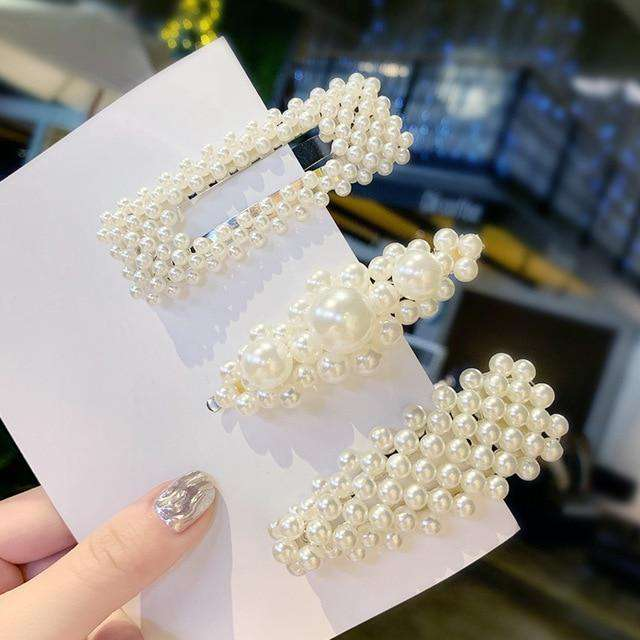 25 Styles Elegant Pearl Hair Clips - Discounts You May Like