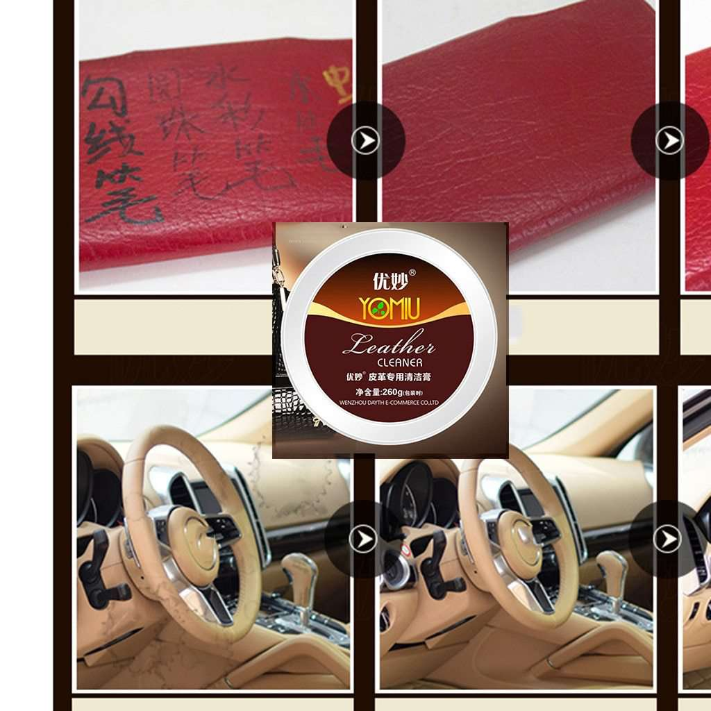 Multi-functional Leather Refurbishing Cleaner - Discounts You May Like